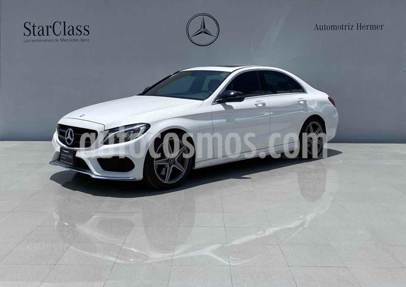 Mercedes Benz Clase C 250 CGI Sport Aut usado (2017) color Blanco precio $469,900