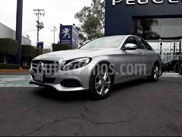 Mercedes Benz Clase C 200 Exclusive Aut usado (2017) color Plata precio $369,900