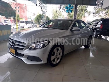 Mercedes Benz Clase C 4P C180 CGI TA 1.6T usado (2018) color Plata precio $395,000