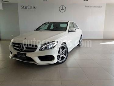 Mercedes Benz Clase C 4p C 250 CGI Sport usado (2018) color Blanco precio $559,500