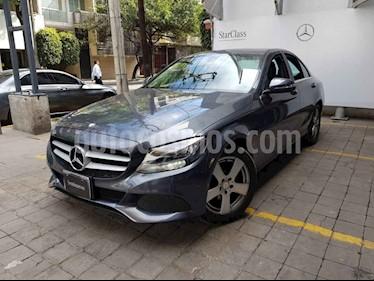 Mercedes Benz Clase C 4p C 180 L4/1.6/T Aut usado (2015) color Gris precio $295,000