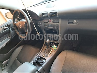 Mercedes Benz Clase C 200 CGI Coupe Aut usado (2002) color Gris Tenorita precio $67,000