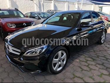 Mercedes Benz Clase C 4P C180 CGI TA 1.6T usado (2018) color Negro precio $348,800