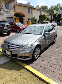 Mercedes Benz Clase C 180 CGI Aut usado (2013) color Plata Paladio precio $210,000