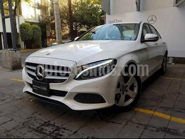 Mercedes Benz Clase C 180 Aut usado (2018) color Blanco precio $395,000