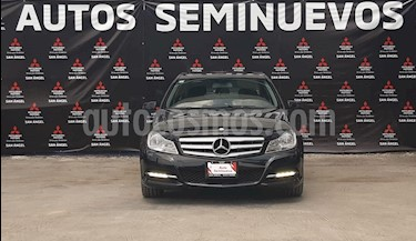 Mercedes Benz Clase C 200 CGI Exclusive usado (2013) color Negro Obsidiana precio $205,000