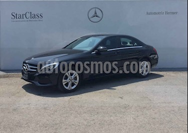 Mercedes Benz Clase C 4p C 200 Exclusive L4/2.0/T Aut usado (2018) color Negro precio $419,900