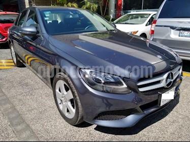 Mercedes Benz Clase C 4P C180 CGI 1.6T AT usado (2016) color Gris precio $299,000