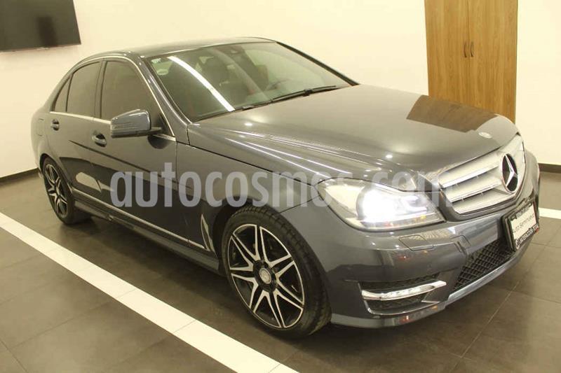 Mercedes Benz Clase C 200 CGI Sport Plus Aut usado (2014) color Gris precio $259,000