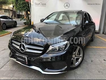 foto Mercedes Benz Clase C 4p C 250 Sport L4/2.0/T Aut usado (2016) color Negro precio $425,000