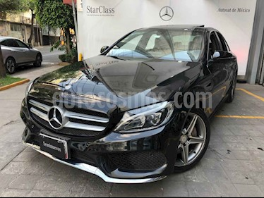 Mercedes Benz Clase C 4p C 250 Sport L4/2.0/T Aut usado (2016) color Negro precio $425,000