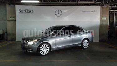 Mercedes Benz Clase C 4p C 280 Classic aut usado (2008) color Gris precio $159,000
