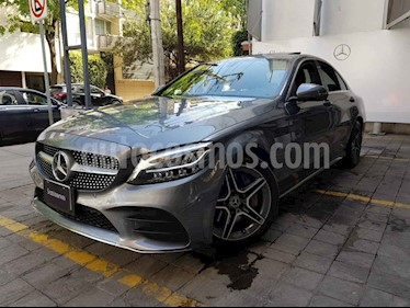 Mercedes Benz Clase C 4p C 300 Sport L4/2.0/T Aut usado (2019) color Gris precio $670,000