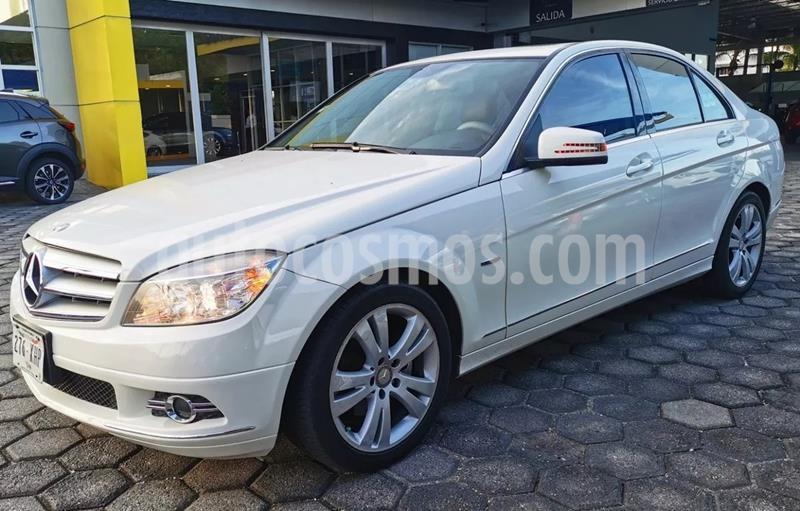 Mercedes Benz Clase C 200 CGI Sport Aut usado (2011) color Blanco precio $195,000