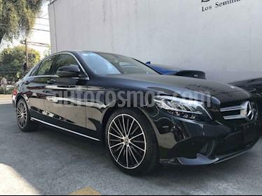 Mercedes Benz Clase C 200 Aut usado (2019) color Negro precio $595,000