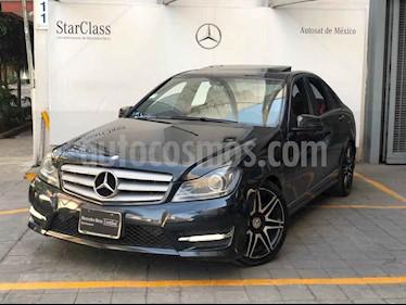 Mercedes Benz Clase C 4p C 200 CGI Sport aut usado (2013) color Gris precio $260,000
