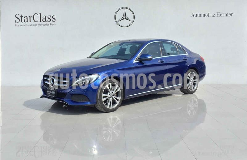 Mercedes Benz Clase C 200 CGI Sport Aut usado (2017) color Azul precio $389,900