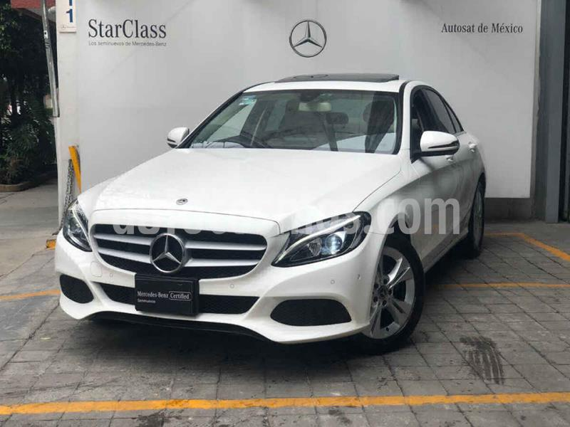 Mercedes Benz Clase C 200 CGI Exclusive Aut usado (2018) color Blanco precio $480,000