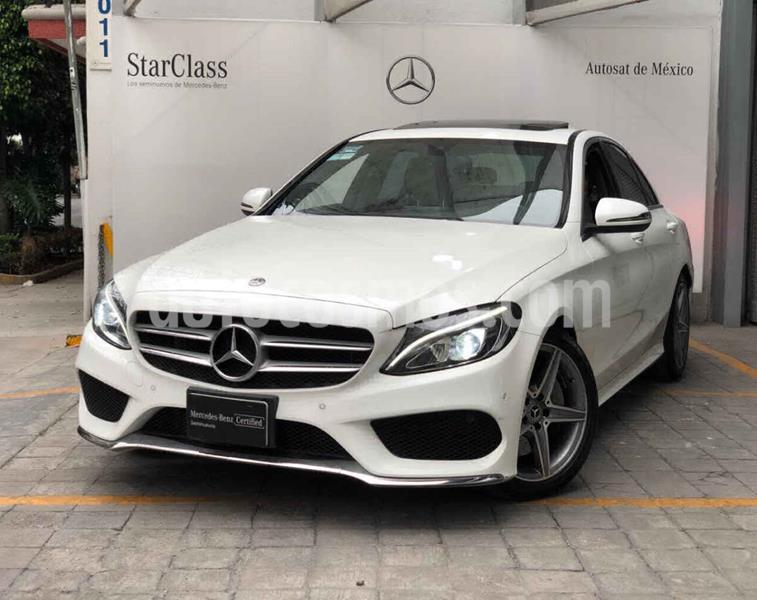 Mercedes Benz Clase C 250 CGI Sport Aut usado (2018) color Blanco precio $560,000