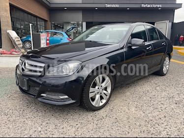 Mercedes Benz Clase C 200 CGI Exclusive Aut usado (2014) color Negro Magnetita precio $199,000