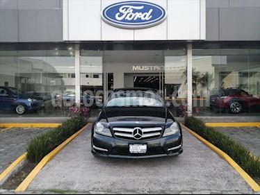 Mercedes Benz Clase C 350 CGI Coupe Aut usado (2012) color Gris precio $244,000