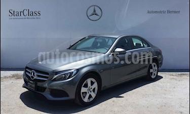 Mercedes Benz Clase C 180 Aut usado (2018) color Gris precio $399,900