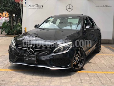 Mercedes Benz Clase C 4p C 450 AMG V6/3.0/T Aut usado (2016) color Negro precio $575,000