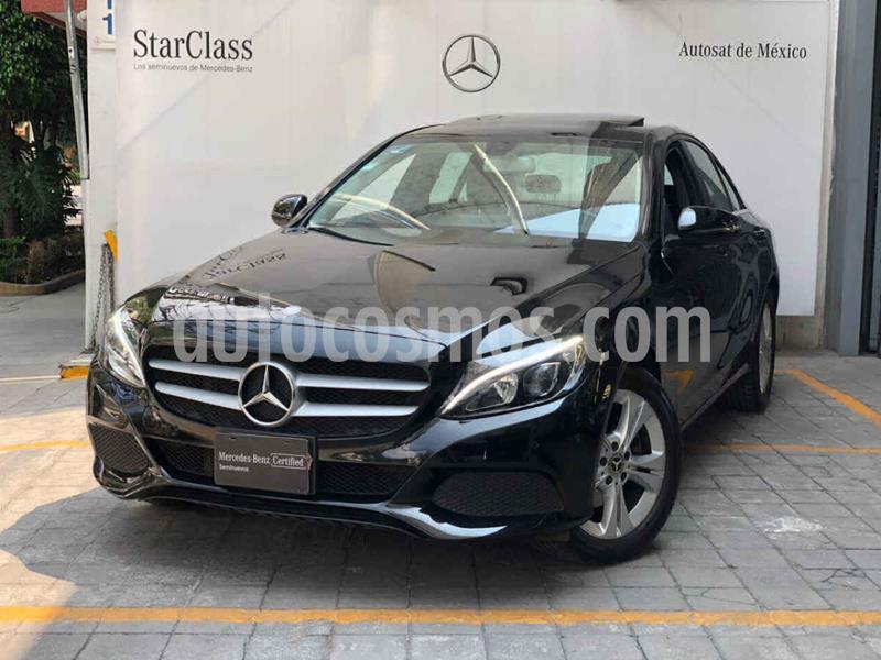 Mercedes Clase C 200 CGI Exclusive Aut usado (2018) color Negro precio $440,000