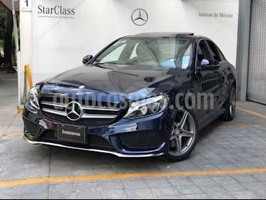 Mercedes Benz Clase C 250 CGI Sport Aut usado (2017) color Azul precio $460,000