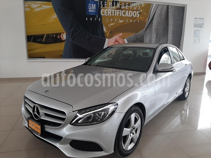 Mercedes Benz Clase C 180 Aut usado (2018) color Plata precio $378,900