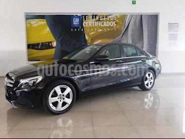 Mercedes Benz Clase C 4P C180 CGI TA 1.6T usado (2018) color Negro precio $374,093