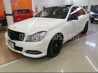 Mercedes Benz Clase C 200 CGI Sport Aut usado (2013) color Blanco Calcita   precio $215,000