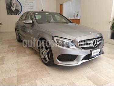 Mercedes Benz Clase C 250 CGI Sport Aut usado (2015) color Plata precio $345,000