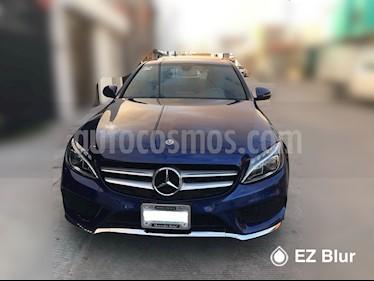 Mercedes Benz Clase C 250 CGI Sport Aut usado (2018) color Azul Oscuro precio $570,000