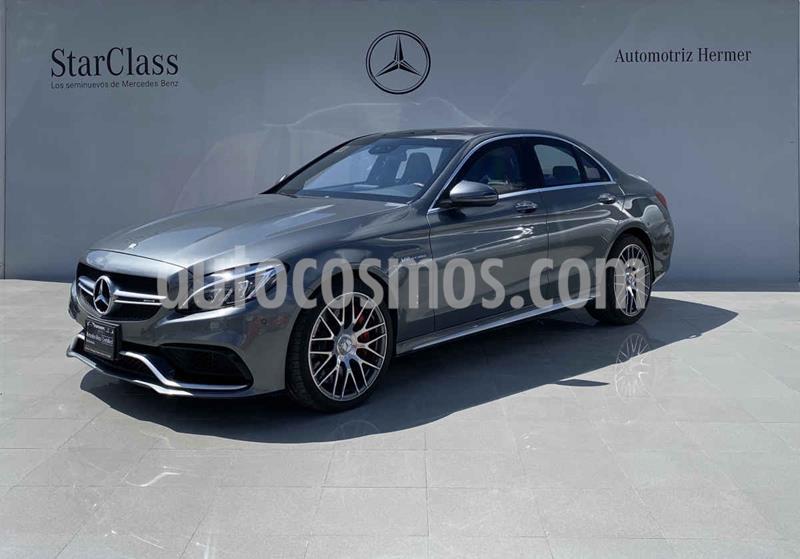 Mercedes Clase C 63 AMG S usado (2017) color Plata precio $1,499,900