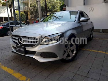 Mercedes Benz Clase C 4p C 180 L4/1.6/T Aut usado (2016) color Plata precio $315,000