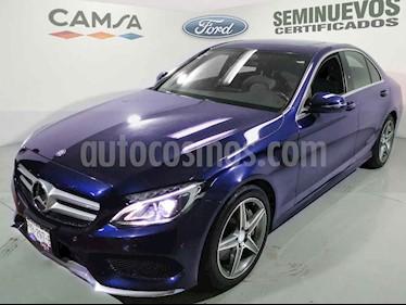 Mercedes Benz Clase C 4p C 250 Sport L4/2.0/T Aut usado (2017) color Azul precio $489,900