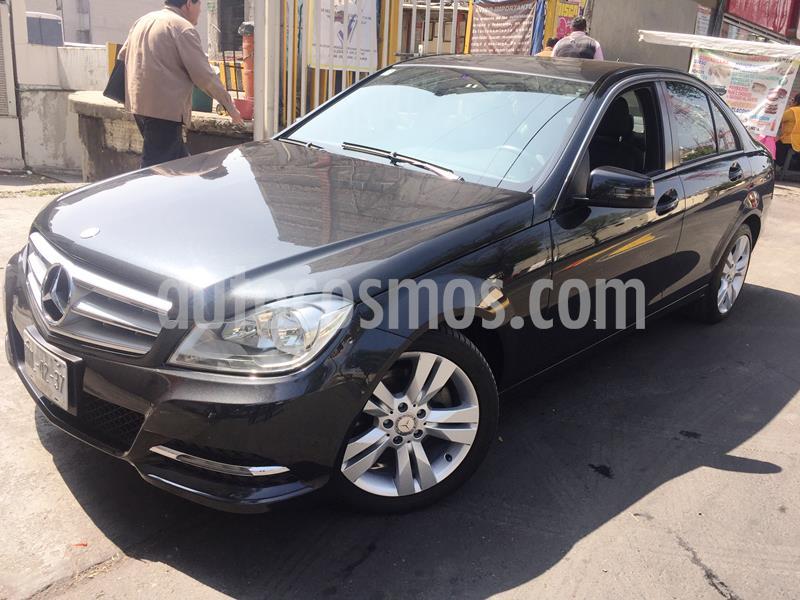 Mercedes Clase C 200 CGI Exclusive Aut usado (2013) color Negro Magnetita precio $209,950