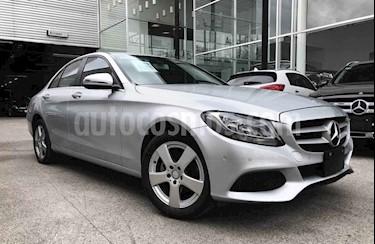 Mercedes Benz Clase C 180 Aut usado (2018) color Plata precio $395,000