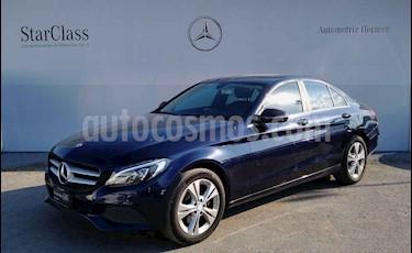 Mercedes Benz Clase C 200 Exclusive Aut usado (2016) color Azul precio $339,900
