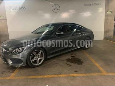 Mercedes Benz Clase C 250 CGI Coupe Aut usado (2017) color Gris precio $529,000