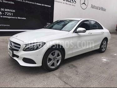 Mercedes Benz Clase C 4p C 180 L4/1.6/T Aut usado (2018) color Blanco precio $375,000