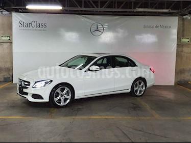 Mercedes Benz Clase C 4p C 200 Sport L4/2.0/T Aut usado (2018) color Blanco precio $599,000