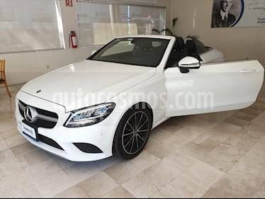 Mercedes Benz Clase C 200 Convertible Aut usado (2019) color Blanco precio $700,000