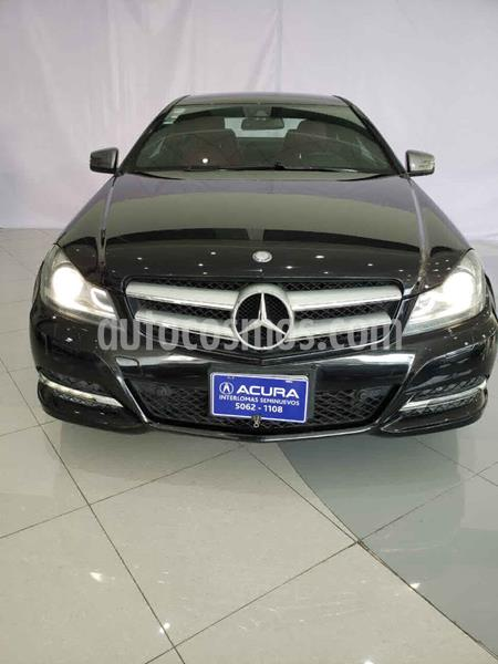 Mercedes Benz Clase C 250 CGI Coupe Aut usado (2012) color Negro precio $210,000
