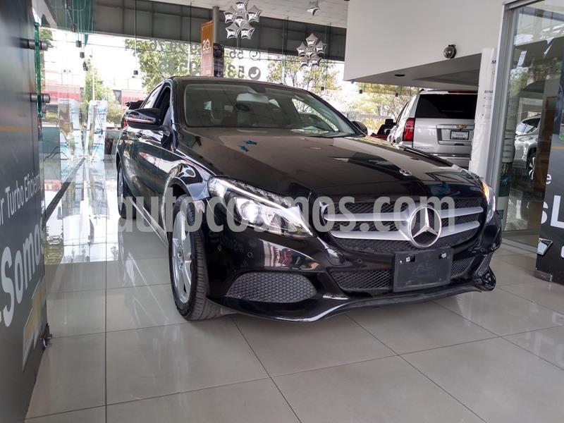 Mercedes Benz Clase C 180 Aut usado (2018) color Negro precio $348,000