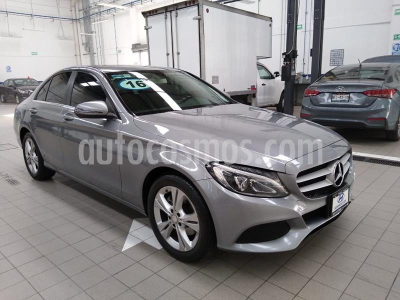 Mercedes Benz Clase C 200 CGI Exclusive usado (2016) color Gris precio $330,000