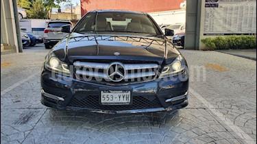 Mercedes Benz Clase C 2p C 350 CGI Coupe usado (2013) color Gris precio $279,000