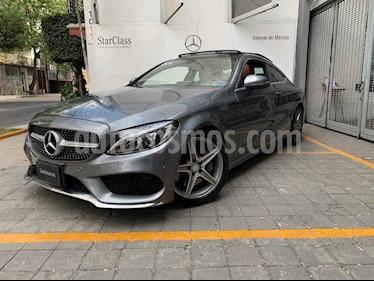 Mercedes Benz Clase C 200 CGI Coupe Aut usado (2017) color Gris precio $540,000
