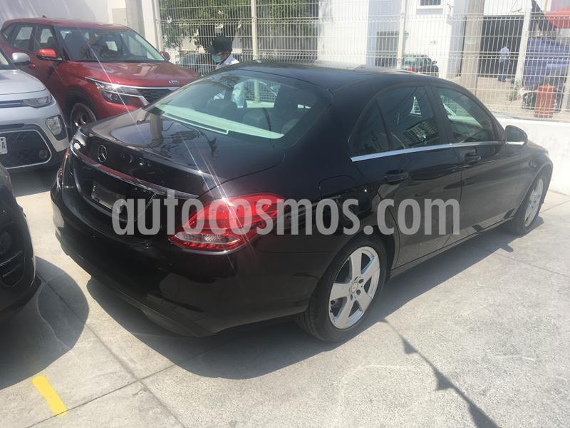 Mercedes Benz Clase C 180 Aut usado (2016) color Negro Obsidiana precio $290,000